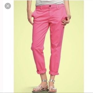 3 for $25 Gap Cotton Straight Pink Khakis Pants